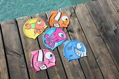 Bonnet piscine enfant