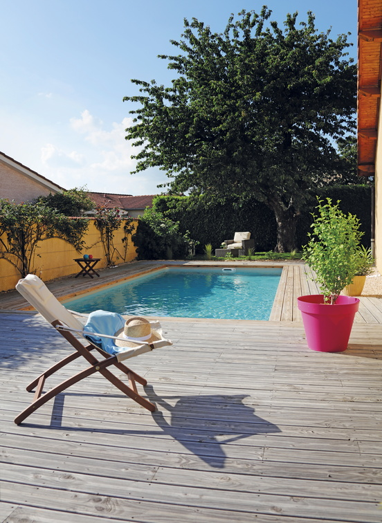 Piscine rectangulaire 8x3,5m