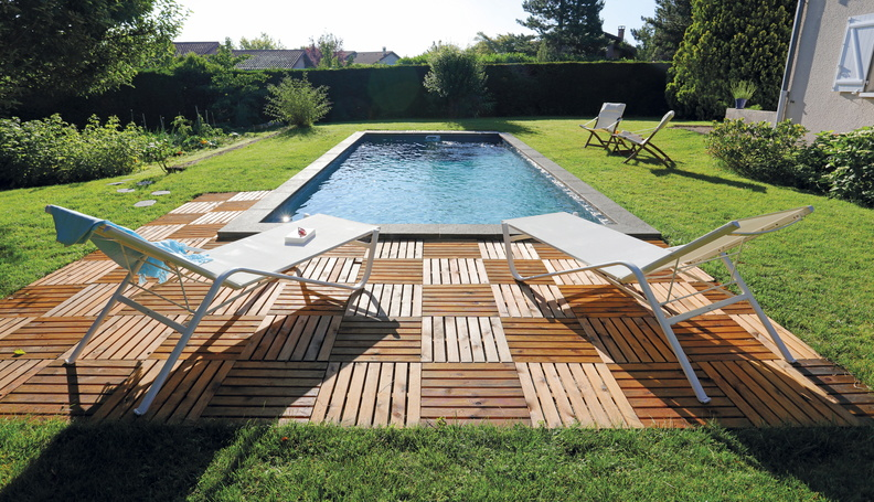 Piscine rectangulaire 8 5x3 75 galerie photos desjoyaux for Piscine 5x3