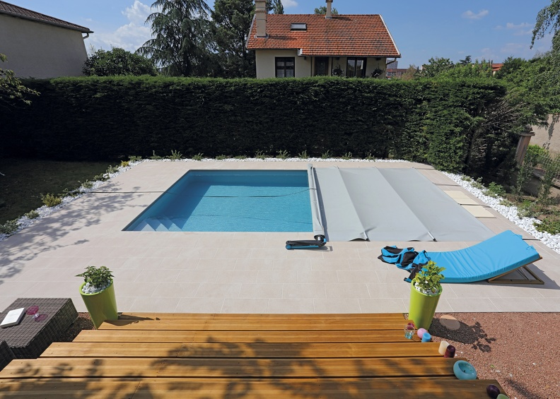 Piscine rectangulaire 7x4