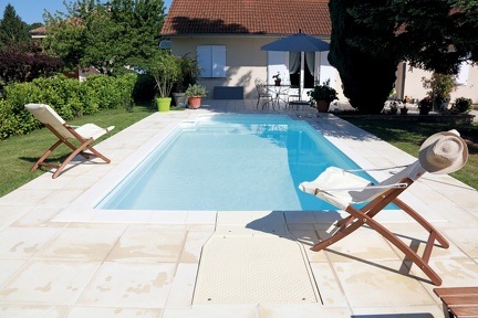 Piscine rectangulaire 6x3
