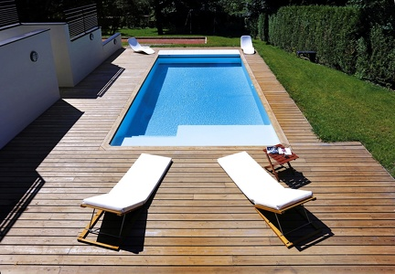 Piscine rectangulaire 9x4